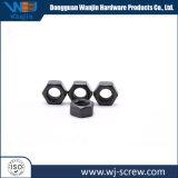 Personnalisés hexagonale à tête ronde noire écrou de vis en acier inoxydable