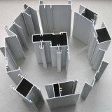 Perfil de aluminio popular industrial constructivo para la decoración de los muebles