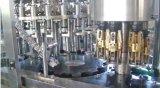 Strumentazione imbottigliante di riempimento della bottiglia di vetro della bevanda automatica dell'acqua potabile per la protezione di Al della protezione di parte superiore