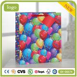 Geburtstag-Ballon-Kleidung bereift Form-Supermarkt-Geschenk-Papierbeutel