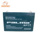 Batterie solaire en gros de 6V 10ah pour le prix d'UPS au Pakistan