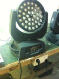 Pista móvil de la luz LED de la colada del zoom del triángulo de la iluminación 36X10W de DJ