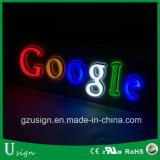 Altas cartas de acrílico de la muestra del alfabeto LED de Luminunce