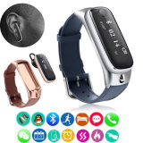 M6 Surveillance du repos de rappel d'appel de bracelet Bluetooth Smart Watch