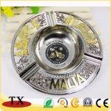 Kundenspezifischer Andenken-Geschenk-Metallaschenbecher mit Firmenzeichen