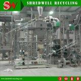 Riciclando gomma che tagliuzza sistema per il riciclaggio spreco/scarto/pneumatici usati