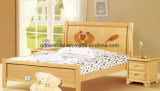 Festes hölzernes Bett-moderne doppelte Betten (M-X2309)