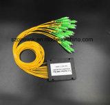 Sistemi del divisore del PLC della fibra colorati telecomunicazione 1X16 di Gpon