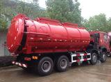 트럭 30 톤 Sinotruk HOWO 8*4 20 Cbm 진흙 탱크 수송