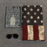 Amercian 깃발에 의하여 인쇄된 두꺼운 폴리에스테는 이다 스카프 (Hz97)를