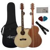 Гитара нового прибытия Aiersi акустическая с привлекательной конструкцией Headstock