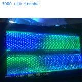 Het nieuwe LEIDENE DMX 3000 Licht van de Stroboscoop