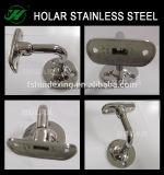 Scala dell'acciaio inossidabile e parentesi del corrimano del balcone