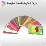 아이를 위한 주문을 받아서 만들어진 교육 카드 놀이 카드