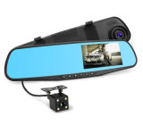 4.3 يثنّي بوصة [1080ب] [دفر] مع مرآة عرض عدسة سيدة آلة تصوير مسجّل