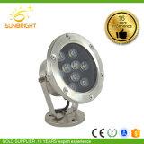prix d'usine Déplacement de la voie de la tête de lumière LED Spot Pour jardin