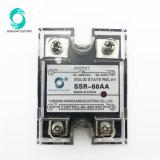 Großhandels-SSR-60AA 60A 90-280V Wechselstrom 24-480V Relais zum Wechselstrom-SSR 60AMP mit LED-Anzeiger