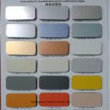 Hoja de aluminio con recubrimiento de color blanco