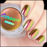 Colorant cosmétique de commande des vitesses de couleur de peinture de caméléon de chrome pour le vernis à ongles