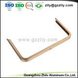 Het douane Geanodiseerde Gouden Frame van het Aluminium voor TV