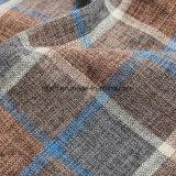 2018 новых Multi решеток цвета для оптовой Linen ткани