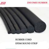 Cavo rotondo elastico 3mm, 4mm, 6mm, 8mm della gomma spugnosa di EPDM