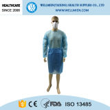 Hospital를 위한 PP Nonwoven Disposable Medical Isolation Gowns