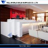 Nouveau design marbre conduit Night Club Bar comptoir commercial et d'accueil
