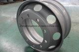 колесо тележки поставкы фабрики 22.5X8.25 стальное, стальная оправа для тележки, оправа колеса колеса