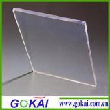 Claro brillante hoja de vidrio acrílico transparente de la Junta de partición de oficina