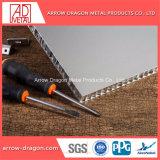 De PVDF painéis de alumínio alveolado Anti-Seismic à prova de fogo para a Paragem de Autocarro Shelter