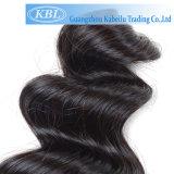 3Aインドの緩い波100%の人間の毛髪
