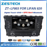 Últimas WINCE 6.0 2 DIN de 8 pulgadas coche reproductor de DVD para Lifan 820
