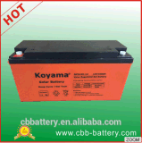батарея геля глубокого цикла 12V 150ah солнечная для солнечных систем