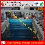 Chaîne de production électrostatique automatique d'enduit