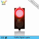 Водонепроницаемый PC 300мм красного цвета белый светодиодный индикатор сигнала светофора
