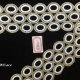 сдвоенная линия уравновешивание 6cm шнурка картины круга для платья девушки или одежд Hme864