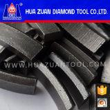 Het Segment van de Boor van de Kern van de Diamant van de Vorm van het Dak van het Segment van de Diamant van China