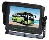 Monitor van de Mening van de Auto van 10.1 Duim TFT LCD de Achter met Tribune en Zonnescherm