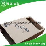 大きいカラー波形のカスタムコーヒー茶ギフトのパッキング板紙箱