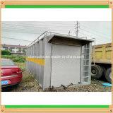 Posto de gasolina de enchimento móvel Containerised do tanque de armazenamento do petróleo do patim