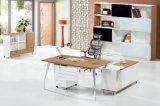 Volakas+Wood 베니어에 의하여 계약되는 유지할 수 있는 내구재 L 모양 테이블