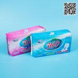 卸し売り女性の使い捨て可能な様式のNon-Woven物質的な生理用ナプキン