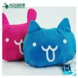 Kundenspezifisches Firmenzeichen gedruckt auf zwei Polyester-Griff-faltender Einkaufstasche der Seiten-Katze-Form-RPET