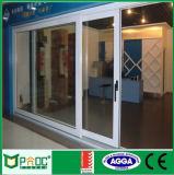 Portello Alzare-Scorrevole di alluminio del materiale da costruzione con vetro Tempered