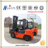 Tank를 가진 3000kgs Propane Forklift Truck에 닛산 Engine Dual Fuel LPG Gas Forklift/4 Wheel/Sit