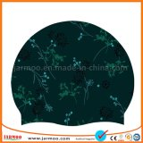 Quality Fashion Custom logo of silicones Swim Cap