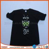 T-shirt promotionnel fait sur commande bon marché de coton d'impression