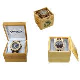 Relojes de madera modificados para requisitos particulares del cronógrafo de múltiples funciones del fabricante del OEM del diseño para los hombres