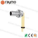 PCB 마운트 상자 2pin 4pin 5pin 6pin 7pin 9pin 원형 연결관을%s Raymo Lemos Compatbile 플러그 0b 시리즈에 의하여 고쳐지는 플러그